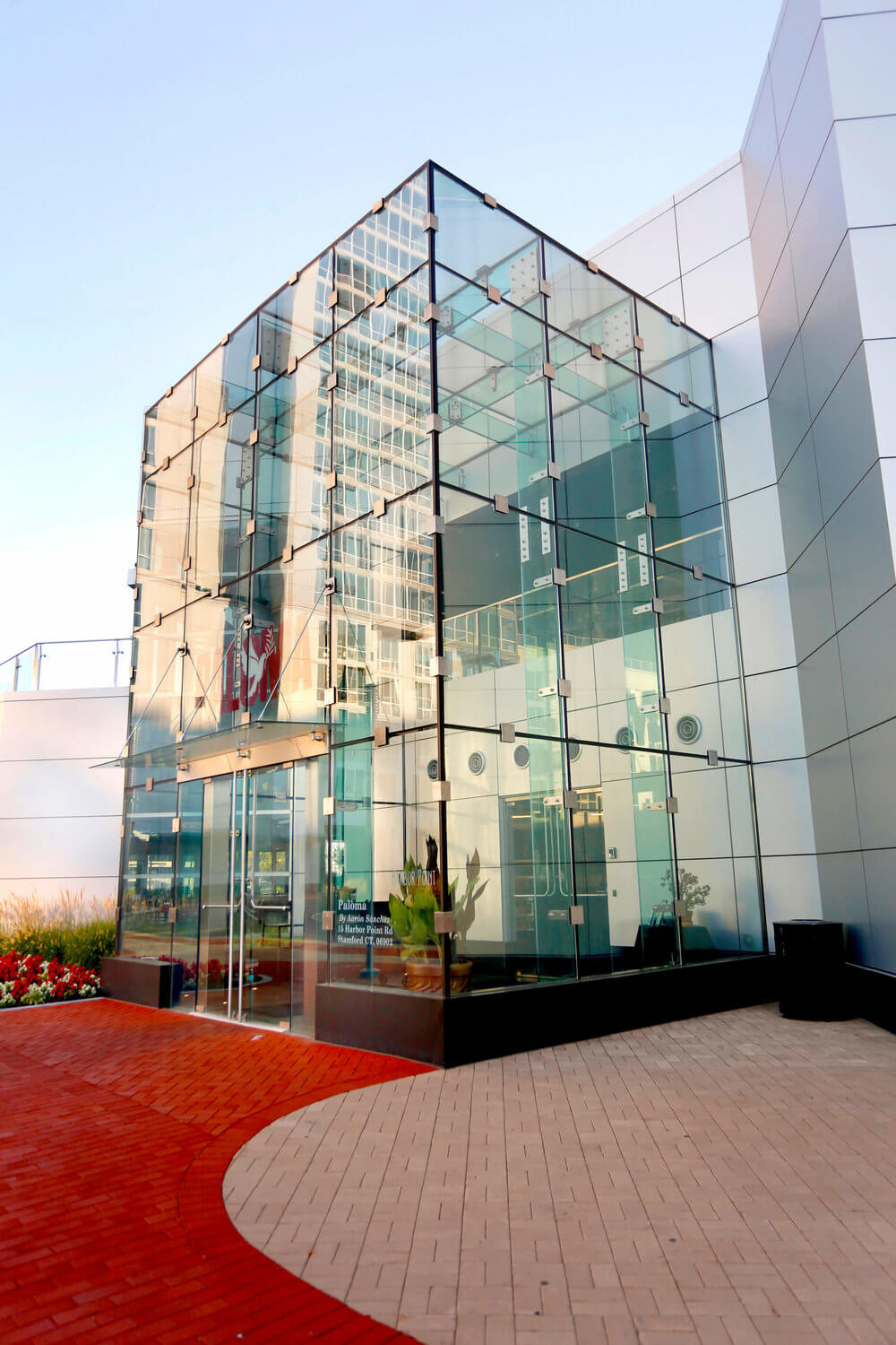 Architectural Photography from Connecticut, building with glass walls