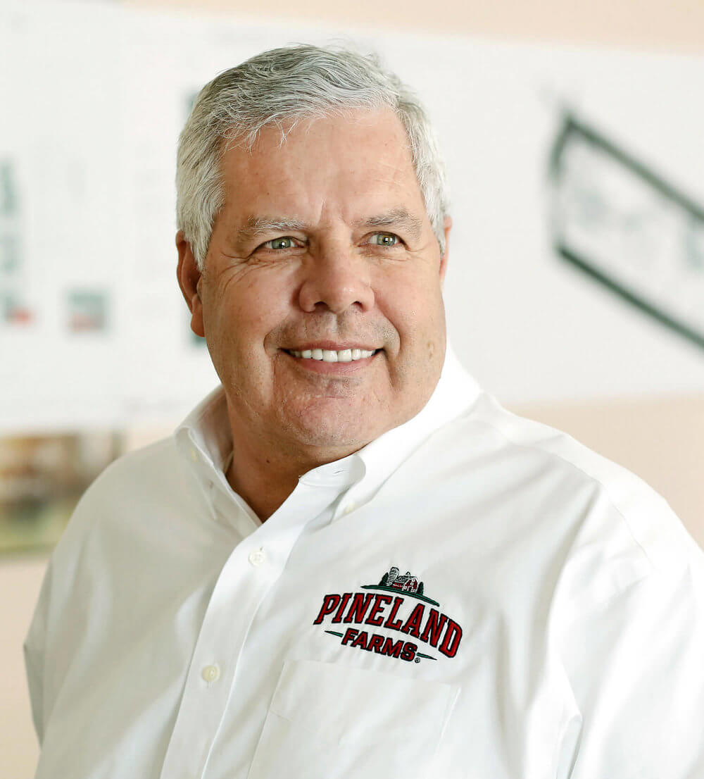 Headshot of Rodney McCrum, president and COO of Pineland Farms Potoato Company, in Mars Hill  Maine